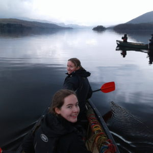 Perfect calm while Canoeing in the Lake District
