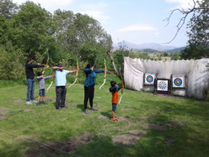 Sunny Archery in the Lake District