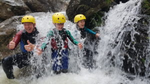 Thumbs up for Gorge Walking!