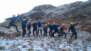 Gorge Walking in the winter