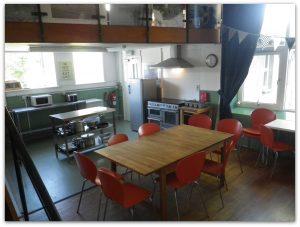 Lowick School Bunkhouse kitchen-diner