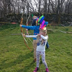 Lake District Archery and Head-dress Making