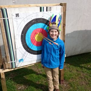 Lake District Archery and native American Head-dress making