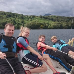 Sailing in the Lake District