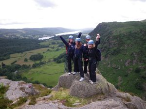 Scrambling in the Lake District