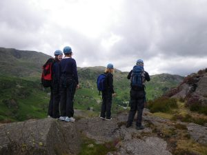 Scrambling Adventure Day in the Lake District