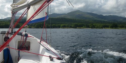 Dinghy Sailing in the Lake District