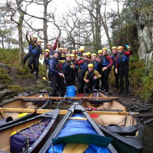 Canoeing for Corporate Groups and Team Building in the Lake District