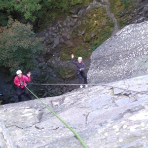 Lake District Abseiling