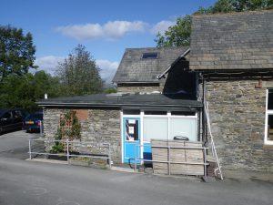 Lowick School Bunkhouse Entrance