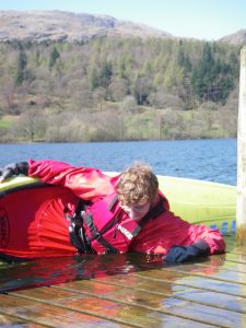 Kayak skills coaching on coniston water