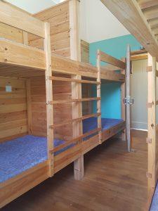 Lowick School Bunkhouse bedroom