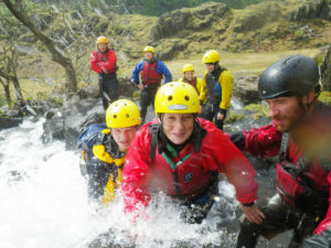 Gorge Walking (Ghyll scrambling) in the Lake District