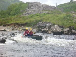 Whitewater Canoeing Stag Adventure