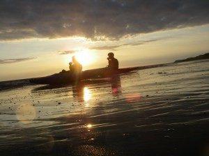Kayaking on the Cumbrian Coast