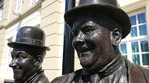 Ulverston Laurel and Hardy Statue